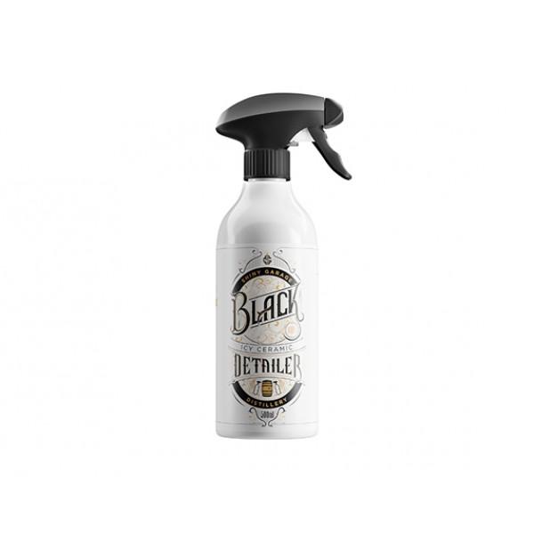 Shiny Garage Limited Edition Black Icy Ceramic Detailer 500ml - keramický detailer na ošetrenie laku s vôňou whiskey