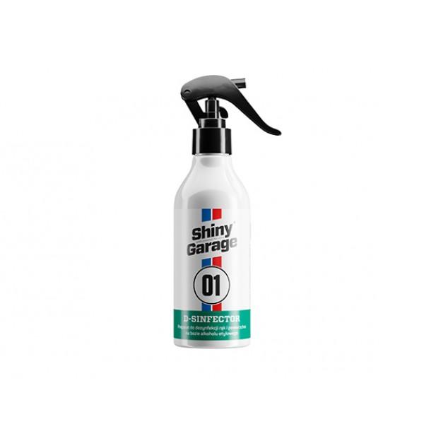 Shiny Garage D-Sinfector 250ml - dezinfekčný produkt