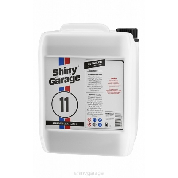Shiny Garage Smooth Clay Lube 5L - lubrikant ku clay hmote