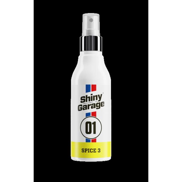 Shiny Garage Spice 3 - pravá koža - osviežovač vzduchu 150ml