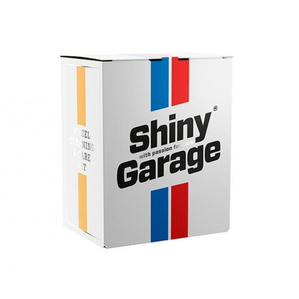Shiny Garage Wheel Cleaning & Care Kit - set na čistenie a ošetrenie kolies